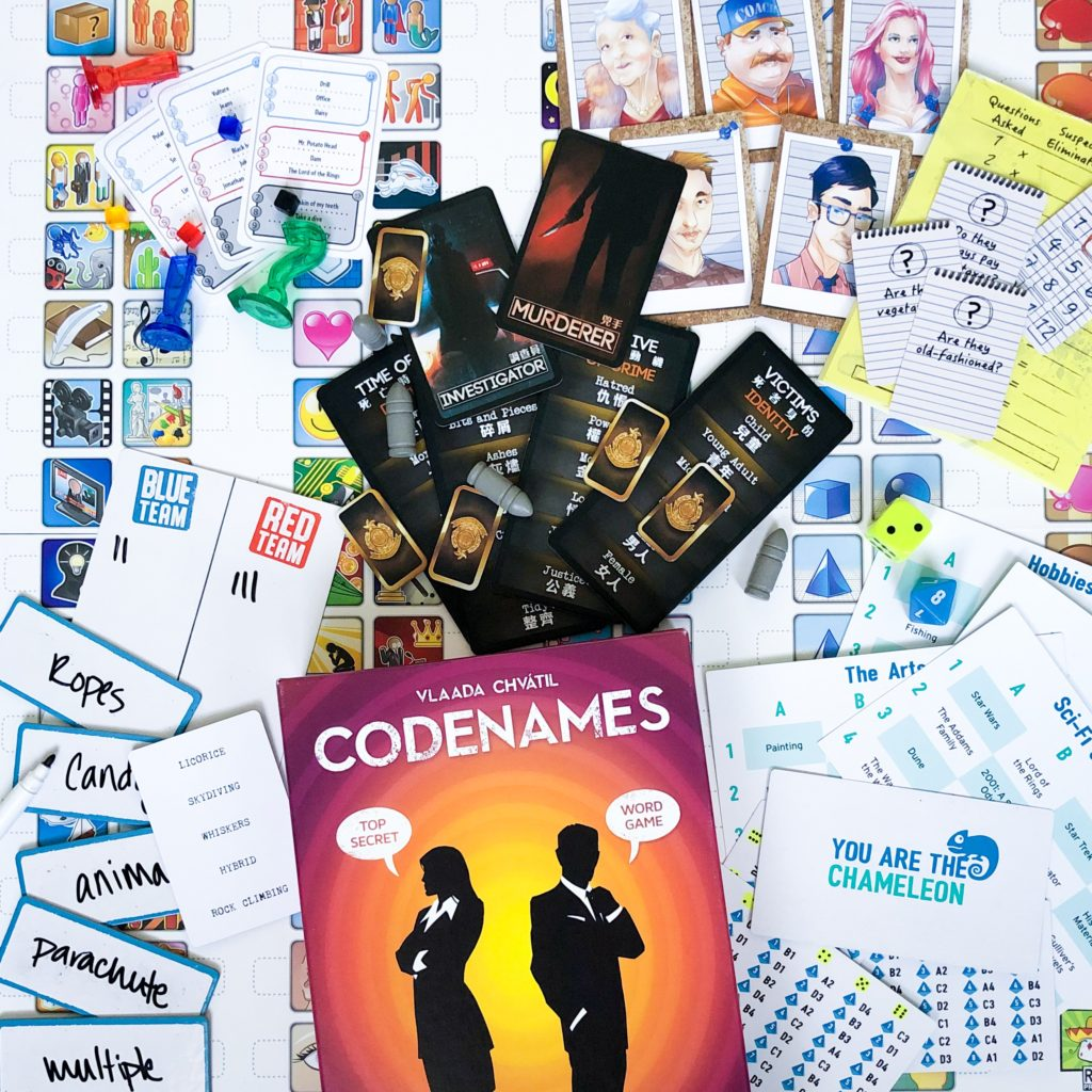 6 Games to Try After Codenames - The Tabletop Family