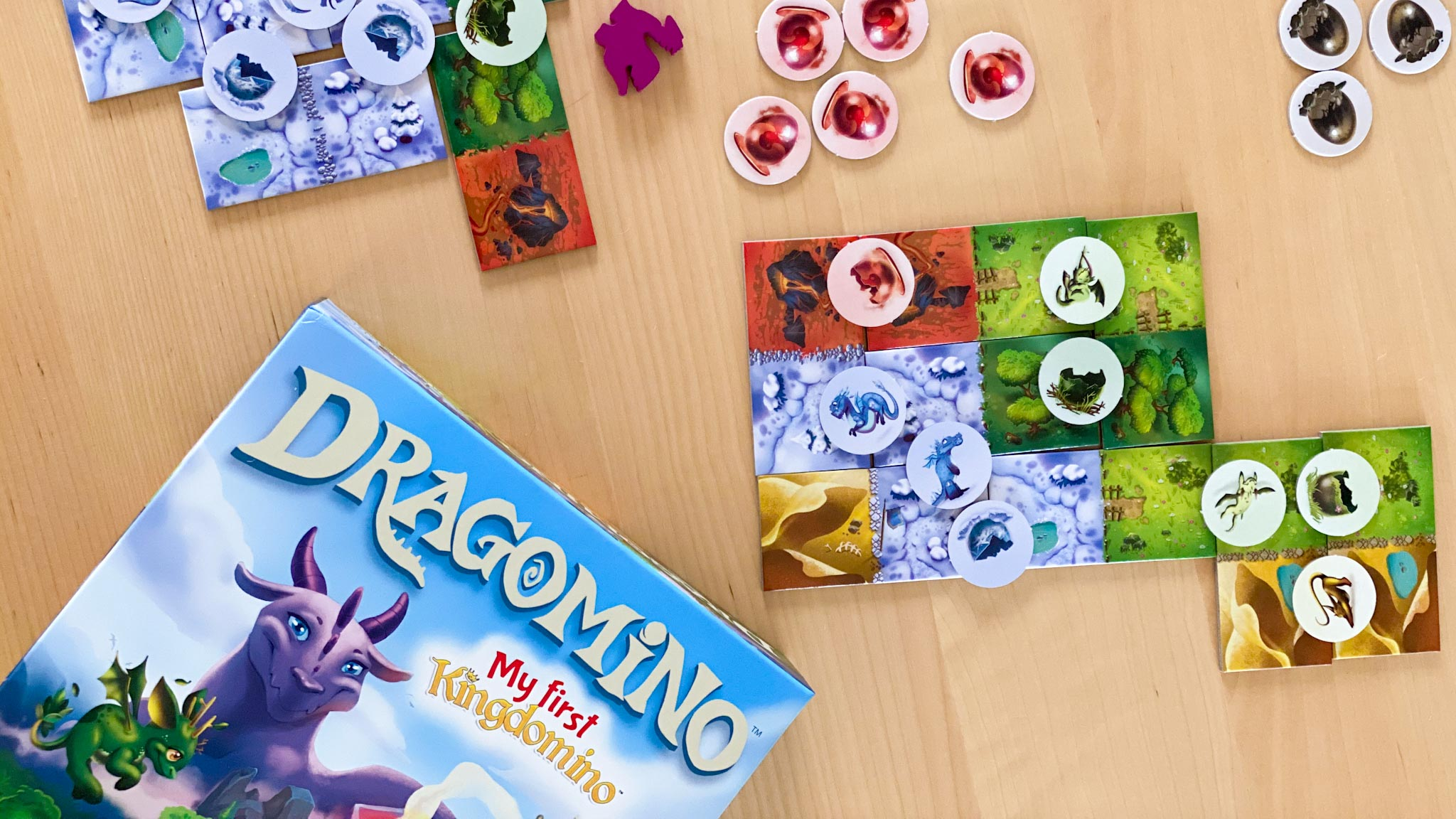 Dragomino Review - The Tabletop Family
